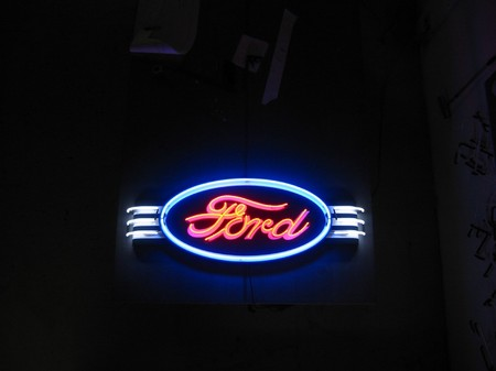 Ford Neon Sign