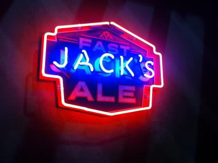 Fast Jack's Ale Neon