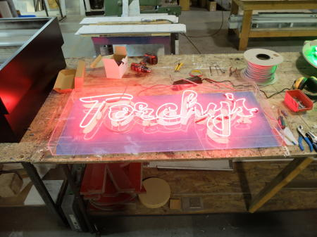 Torchy's Neon Sign