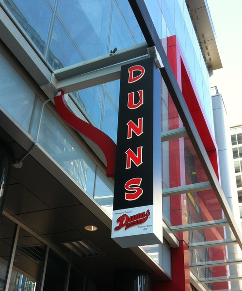 Dunns - Projecting Sign