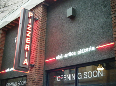 Nicli Pizzeria - Neon Projecting Sign