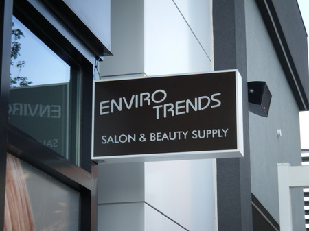 Enviro Trends - Salon & Beauty Supply - Projecting Sign