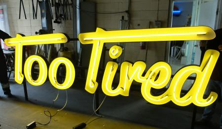 Too Tired Movie Neon