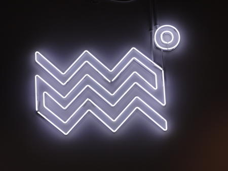 Colder - Neon Logo interior wall