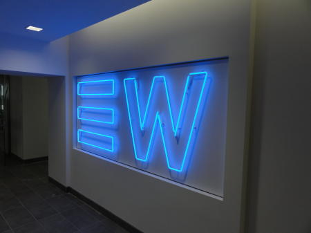 EW - Corporate Logo Wall Neon